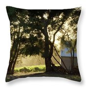 A New Day - Magpie Springs - Adelaide Hills Wine Region - South Australia Throw Pillow
