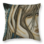 A Place To Go Throw Pillow