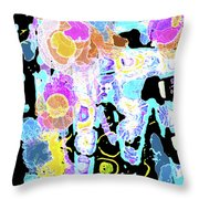 A Play On Color Throw Pillow