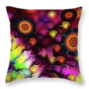 A Poets Birthday Dance Through Fire And Rain 2019 Throw Pillow