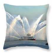 A Pumper Throw Pillow