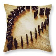 A Risk And A Chance  Throw Pillow