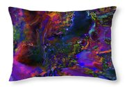 A Royal Diadem In The Hand Of Your God Throw Pillow