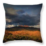 A Sliver Of Hope Throw Pillow by Rick Furmanek