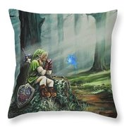 A Song For Navi Throw Pillow