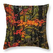 A Time In The Woods Throw Pillow