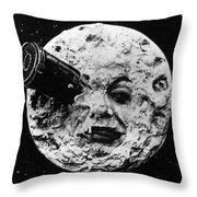 A Trip To The Moon, 1902  Throw Pillow