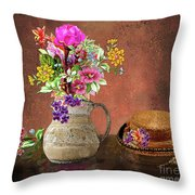 A Visit To Grandma's House Throw Pillow