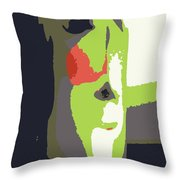 Abstract 980 Throw Pillow