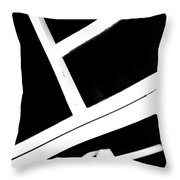 Abstract 2 / The Chair Project Throw Pillow by Dutch Bieber