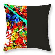 abstract composition K12 Throw Pillow