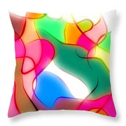 Abstract G1 Throw Pillow