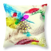 Abstract Softness Throw Pillow