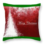 Abstract Tree2 Throw Pillow