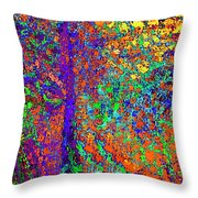 Abstract Visions I Throw Pillow