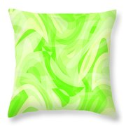 Abstract Waves Painting 0010076 Throw Pillow