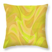 Abstract Waves Painting 0010091 Throw Pillow