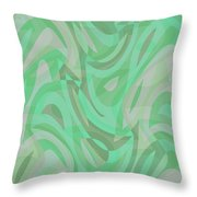 Abstract Waves Painting 0010092 Throw Pillow