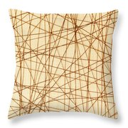 Abstract Web Background Throw Pillow