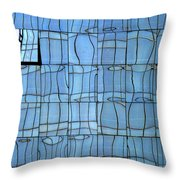 Abstritecture 1 Throw Pillow