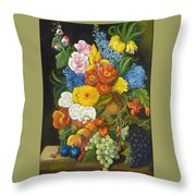 Abundance Throw Pillow