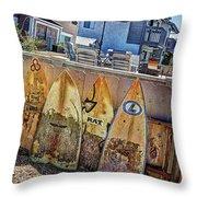 Acacia Street Throw Pillow