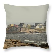 Across The Bay Throw Pillow