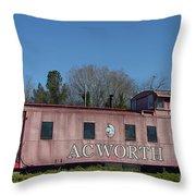 Acworth Ga Throw Pillow