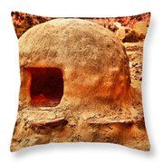 Adobe Stove Throw Pillow