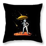 Aeronautic Astronaut Meteor Shower Meteorites Galaxy Space Nerd Throw Pillow