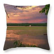 After A June Thunderstorm II Throw Pillow