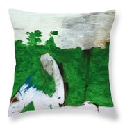 After Battle Throw Pillow