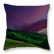 After The Storm Afterglow Throw Pillow