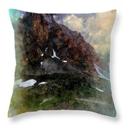Afternoon In The Claree Valley II Throw Pillow