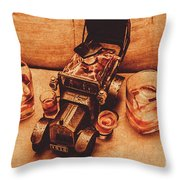 Aged Since 1918 Throw Pillow