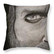Aghor  Throw Pillow