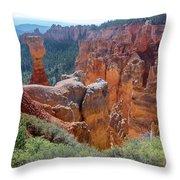 Agua Canyon - Bryce Canyon - Utah Throw Pillow