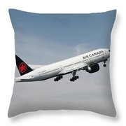 Air Canada Boeing 777 233 Lr Throw Pillow