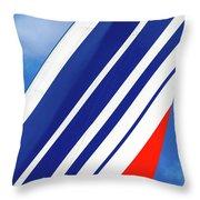 Air France 777 1 Throw Pillow
