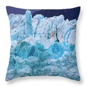 Alaskan Blue Throw Pillow