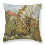 Alexander Fraser, The Younger, October's Workmanship To Rival May Throw Pillow
