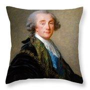 Alexandre Charles Emmanuel De Crussol Florensac        Throw Pillow