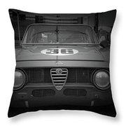 Alfa Laguna Seca Throw Pillow