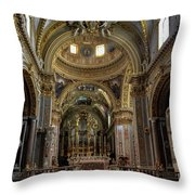 All That Glitters Throw Pillow