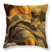 Allegoria Dell Inclinazione 1615 Throw Pillow