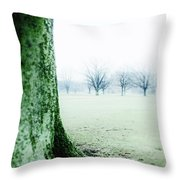 Alone But Not Abandoned Throw Pillow