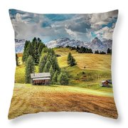 Alpine Beauty Throw Pillow