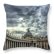 Always A Crowd Throw Pillow