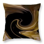 Ambergris Throw Pillow