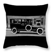 Ambulance - Armstrong And Hotson 1918 Throw Pillow